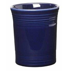 "Utensil Crock 6 5/8"" Cobalt Blue"