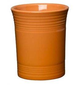 """Utensil Crock 6 5/8"""" Tangerine"""