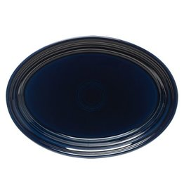 "Small Oval Platter 9 5/8"" Cobalt Blue"