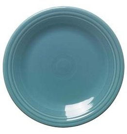 "Dinner Plate 10 1/2""  Turquoise"