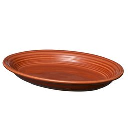 "Medium Oval Platter 11 5/8"" Paprika"