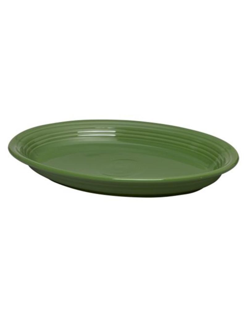 """Large Oval Platter 13 5/8"""" Shamrock"""