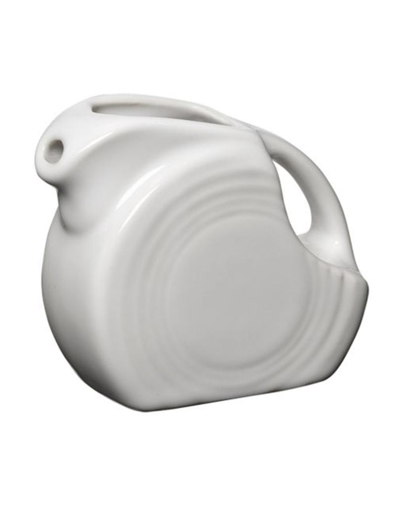 Mini Disc Pitcher 5 oz White