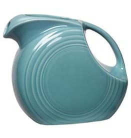 Large Disc Pitcher 67 1/4 oz Turquoise