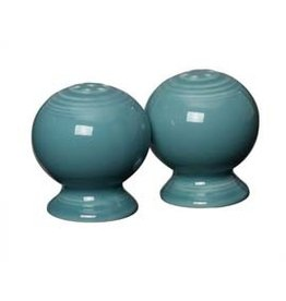 "Salt & Pepper Set 2 1/4"" Turquoise"