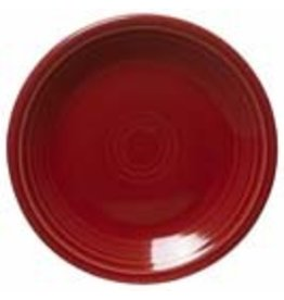 "Salad Plate 7 1/4"" Scarlet"