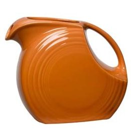 Large Disc Pitcher 67 1/4 oz Tangerine