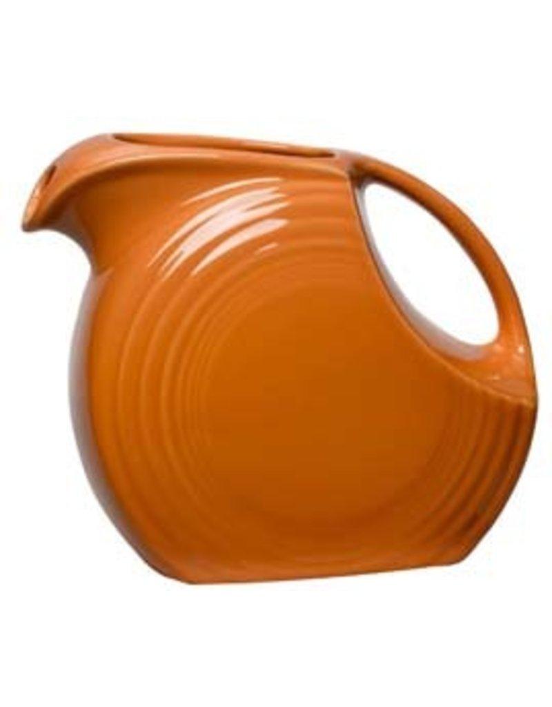 Large Disc Pitcher 67 1/4 oz Tangerine
