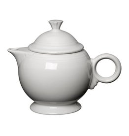 Covered Teapot White