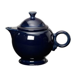Covered Teapot Cobalt Blue