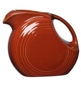 Large Disc Pitcher 67 1/4 oz Paprika