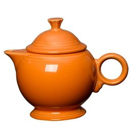 Covered Teapot Tangerine