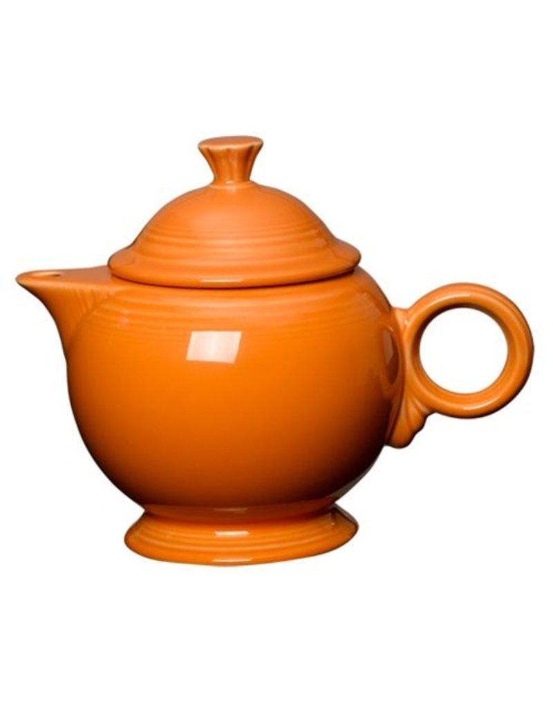 Covered Teapot Tangerine