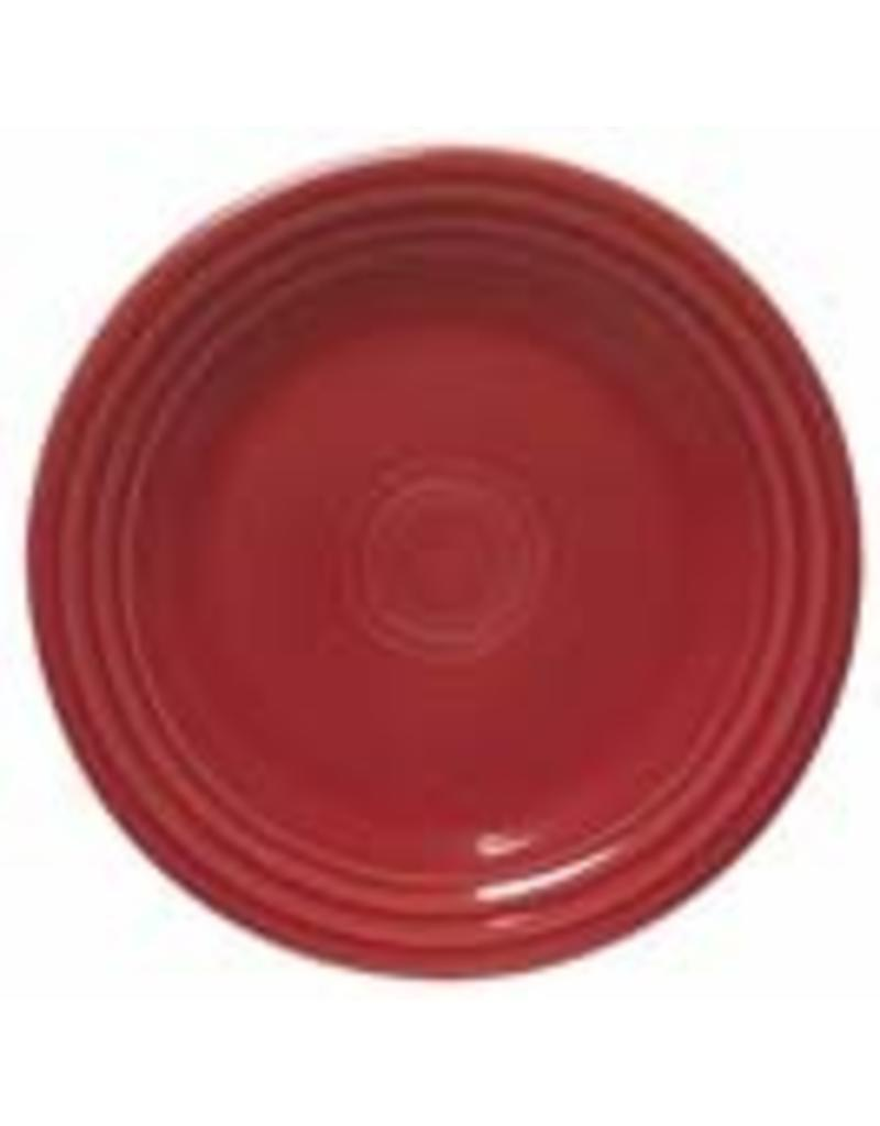 "Luncheon Plate 9"" Scarlet"