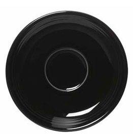 """Saucer 5 7/8"""" Black"""