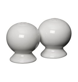 "Salt & Pepper Set 2 1/4"" White"
