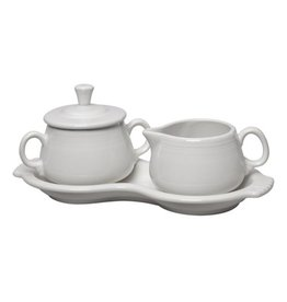 Sugar Cream Tray Set White