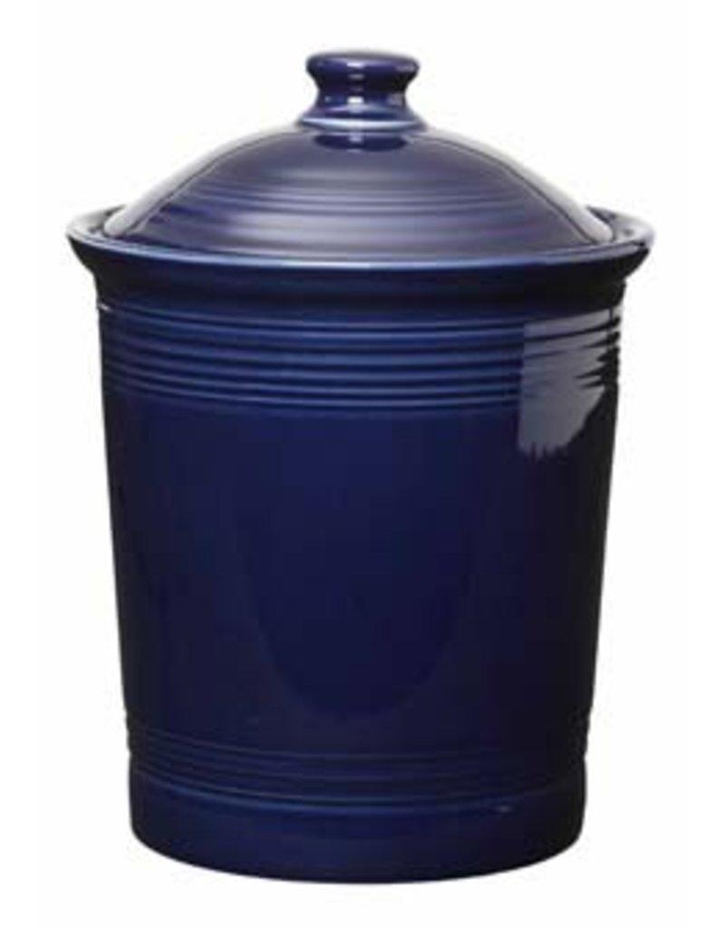Large Canister Cobalt Blue