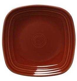 "Square Salad Plate 7 1/2"" Paprika"