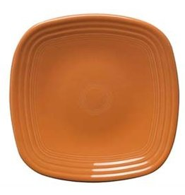 "Square Luncheon Plate 9 1/4"" Tangerine"