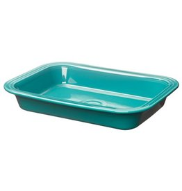 Rectangular Baker Turquoise