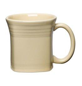 Square Mug 13 oz Ivory