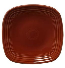 "Square Luncheon Plate 9 1/4"" Paprika"