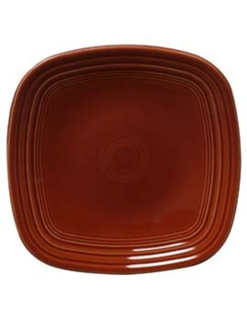 Square Luncheon Plate 9 1/4  Paprika  sc 1 st  Canton Dish Barn & Square Luncheon Plate 9 1/4