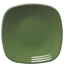 """Square Dinner Plate 10 3/4"""" Shamrock"""