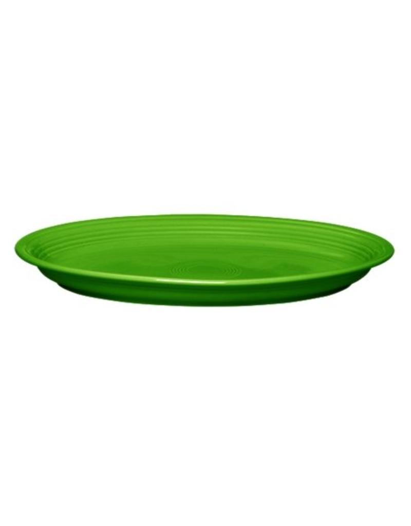 """Extra Large Oval Platter 19 1/4"""" Shamrock"""