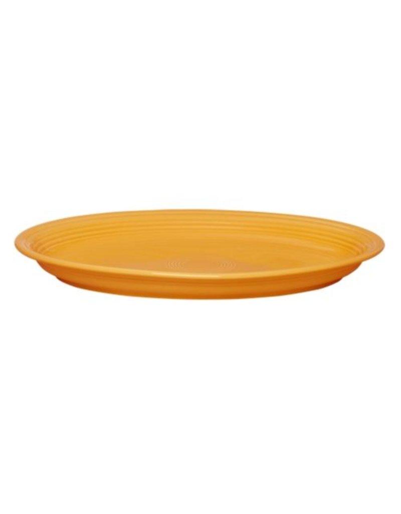 "Extra Large Oval Platter 19 1/4"" Tangerine"