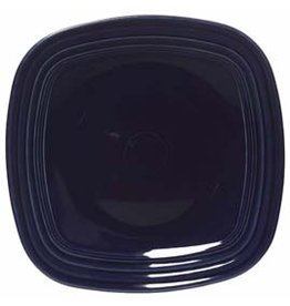 "Square Salad Plate 7 1/2"" Cobalt Blue"