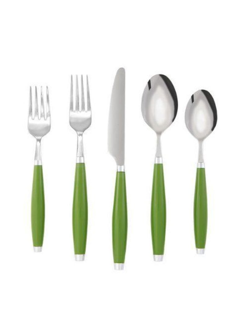 5 pc Flatware Shamrock