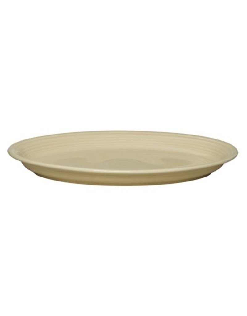 "Extra Large Oval Platter 19 1/4"" Ivory"