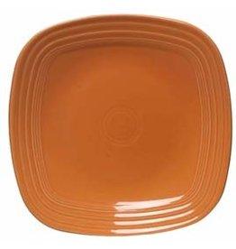 "Square Salad Plate 7 1/2"" Tangerine"