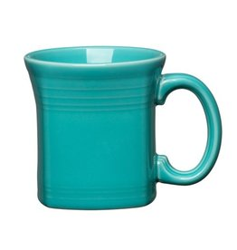 Square Mug 13 oz Turquoise