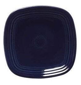 "Square Luncheon Plate 9 1/4"" Cobalt Blue"
