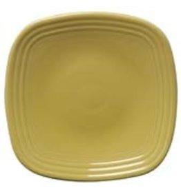 """Square Luncheon Plate 9 1/4"""" Sunflower"""