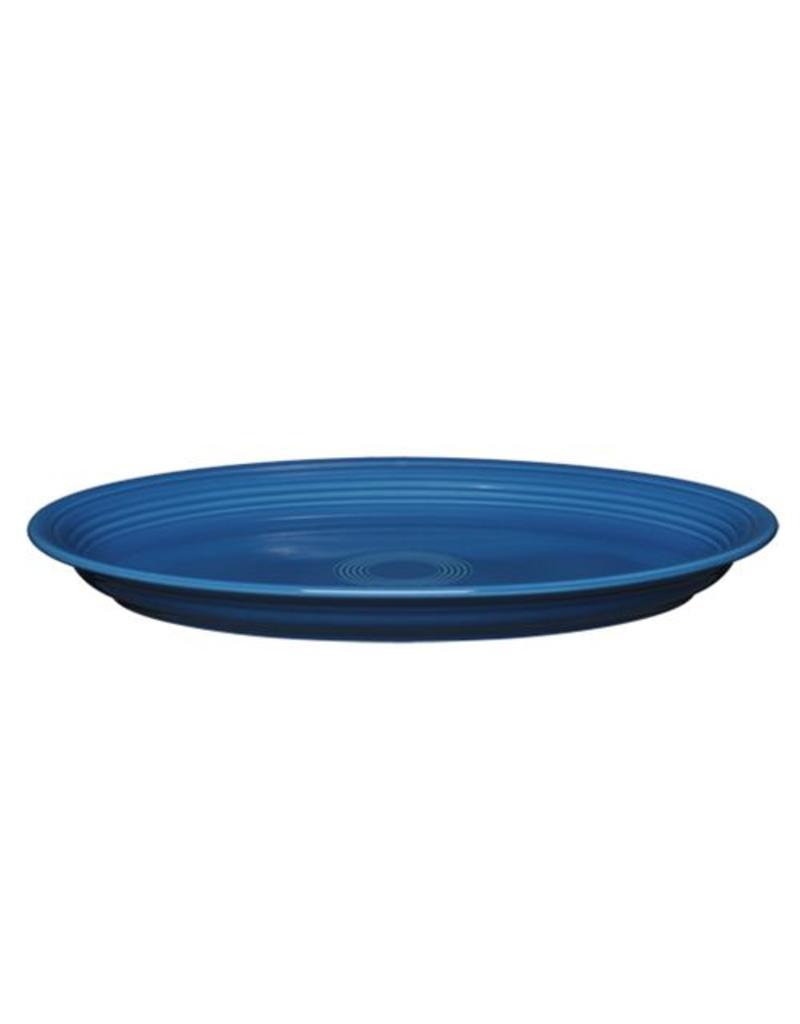 "Large Oval Platter 13 5/8"" Lapis"