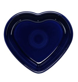 Small Heart Bowl Cobalt Blue