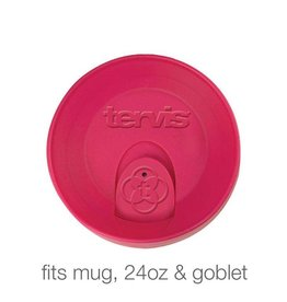 Tervis Fuschia Travel Lid 24 oz