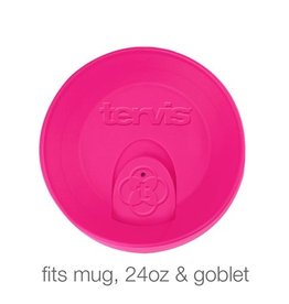 Tervis Neon Pink Travel Lid 24 oz