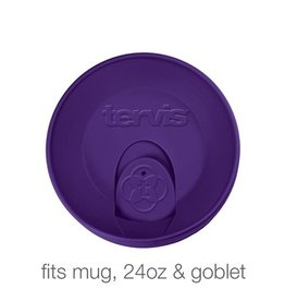 Tervis Royal Purple Travel Lid 24 oz