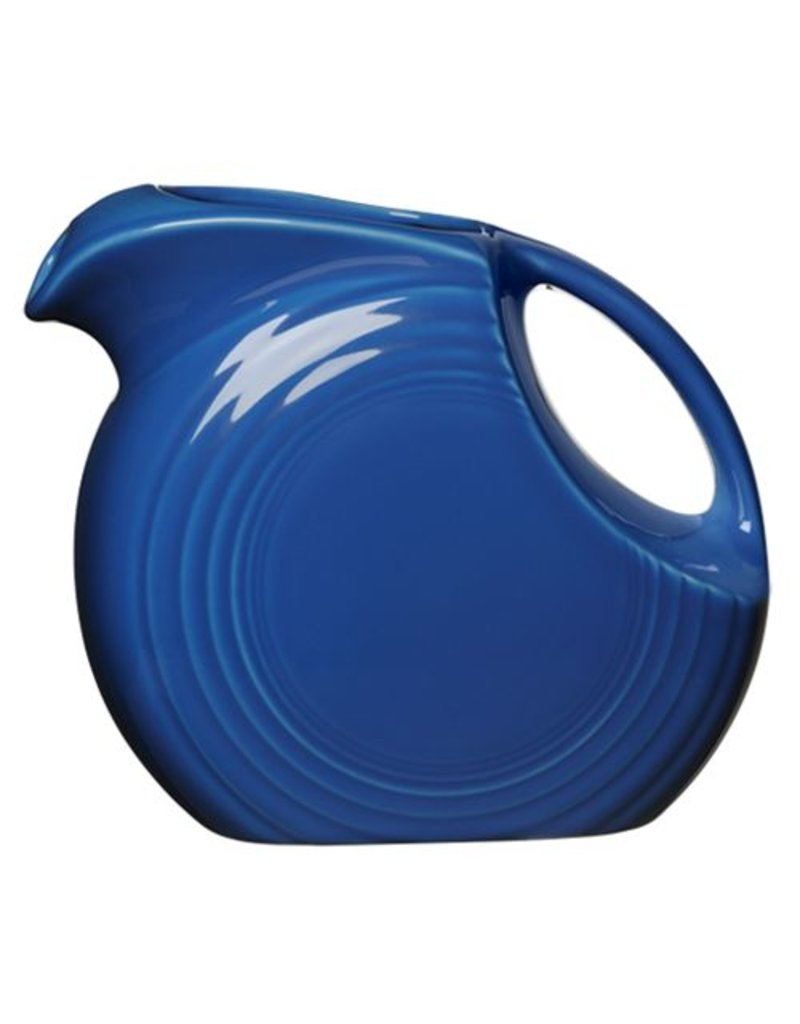 Large Disc Pitcher 67 1/4 oz Lapis