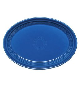 "Small Oval Platter 9 5/8"" Lapis"