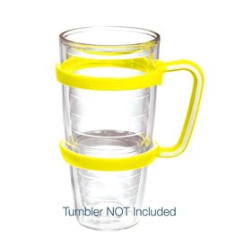 Tervis Neon Yellow handle 24 oz