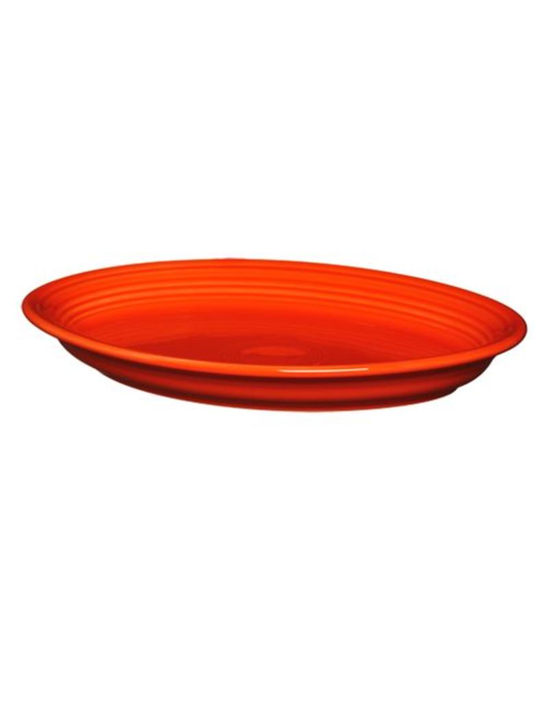 "Large Oval Platter 13 5/8"" Poppy"