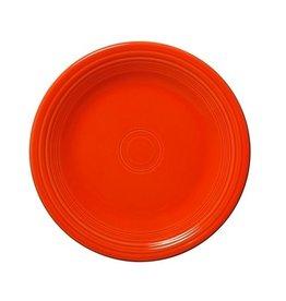 """Dinner Plate 10 1/2"""" Poppy"""