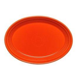 """Small Oval Platter 9 5/8"""" Poppy"""