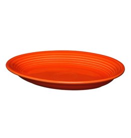 "Medium Oval Platter 11 5/8"" Poppy"